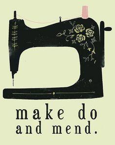 {make do and mend!}