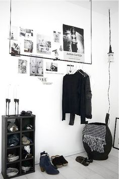 10 fab ways to decorate your home with clothes 8b08e334f3b