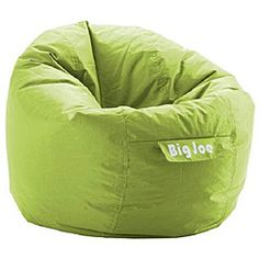 @Overstock - The BeanSack Joe chair has a SmartMax fabric cover that is waterproof and stain resistant and is filled with long-lasting polystyrene beans. The BeanSack Joe is perfect for home theater rooms, bedrooms, dorms, family and game rooms.http://www.overstock.com/Home-Garden/BeanSack-Joe-Green-Bean-Bag-Chair/6641612/product.html?CID=214117 $34.99