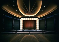 When money is no object; by TK Theaters | #DesignLUX and the Media Room