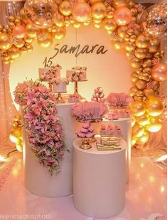 Quinceanera Party Planning – 5 Secrets For Having The Best Mexican Birthday Party Quince Decorations, Quinceanera Decorations, Quinceanera Party, Balloon Decorations, Birthday Party Decorations, Baby Shower Decorations, Party Themes, Wedding Decorations, Birthday Parties