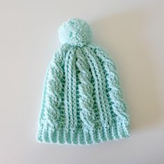 What's on my hook: Cabled beanies