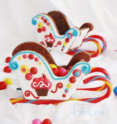 LilaLoa: Where are you December? (Sleighs) made of Gingerbread