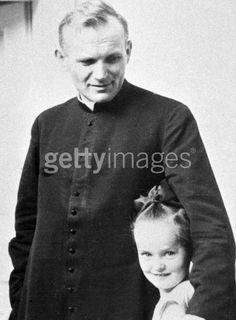 Pope John Paul II then...