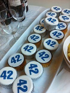 42 cupcakes