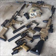 Very nice _ _ _ Military Weapons, Weapons Guns, Airsoft Guns, Guns And Ammo, Rifles, Army Gears, Cool Guns, Awesome Guns, Custom Guns