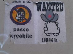 @ Milan.....flyer de rue bien sympatique