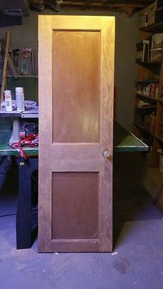 My brother in law gave me a door from his rental, knowing I could do something with it.  Well challenge accepted!  I knew what I wanted to do, so I got started…