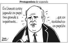 En la @VLADDOMANIA de hoy, Samper, protagonista de segunda en #Unasur.  http://www.semana.com/caricaturas/vladdo/articulo/vladdomania-edicion-1715/420952-3… Vía @RevistaSemana