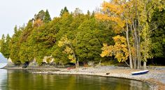 Vermont Coast of Lake Champlain (From: Exploring the Coast of Lake Champlain)