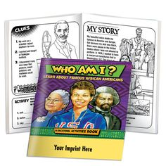 Who Am I? Educational Activities Book | Black History | Positive Promotions