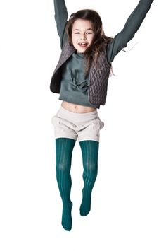 girls teal tights - must have accessory for fall