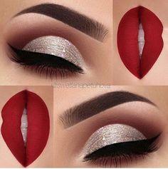 Gorgeous makeup look