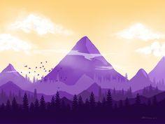 Wilderness by Bhavana sn - Dribbble