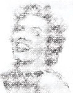 Marilyn Monroe - ASCII Art