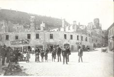 Bratislava, Pozsony, Pressburg, ghetto after fire 1913 Bratislava, Street View, Fire, Tours, Postcards, World, Travel, Outdoor, Outdoors