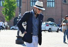 Pitti Uomo, Florence men's fashion event.