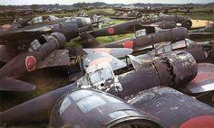 A6M5 scrapped - Micubiši A6M – Wikipedie