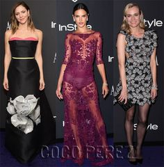 Katharine, Alessandra, and Diane hit up the after-parties!