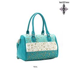 Royal Lizzy Couture Day Star Satchel with Detachable Strap - Assorted Colors