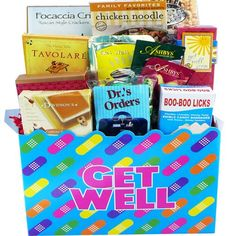 Art of Appreciation Gift Baskets   Get Well Soon Band Aid Care Package Box - http://mygourmetgifts.com/art-of-appreciation-gift-baskets-get-well-soon-band-aid-care-package-box/