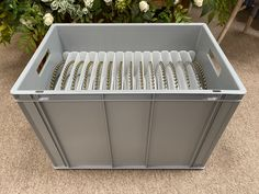 Caterbox makes storage boxes for all types of plates including beaded edge charger plates. visit our online store to see what we have to offer. Plate Storage, Storage Boxes, Catering Equipment, Charger Plates, Crates, Store, Outdoor Decor, Home Decor, Boxes