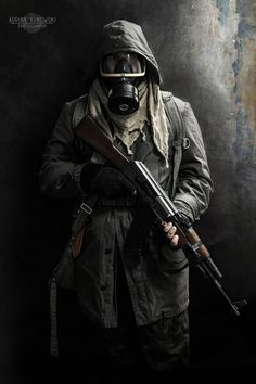 Metro 2033 stalker 2 by AdrianBukowski on DeviantArt Apocalypse Aesthetic, Apocalypse Art, Airsoft, Gas Mask Art, Masks Art, Mad Max, Cthulhu, Special Forces Gear, Post Apocalyptic Art