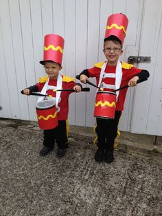 Fancy Dress Costumes - Drummer Boys for Carnival Theme Mehr