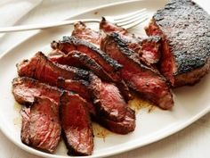 Cowboy Steak Recipe with Coffee-Chili Steak Rub : Cooking Channel