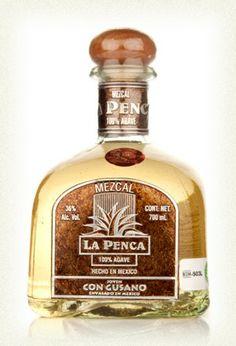 La Penca Mezcal (with worm!)