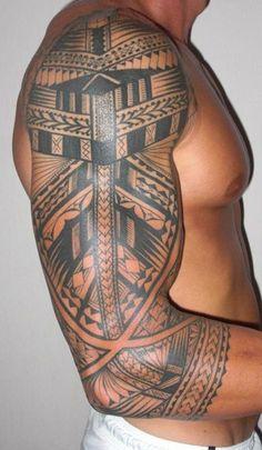 Polynesian Tattoo Sleeves