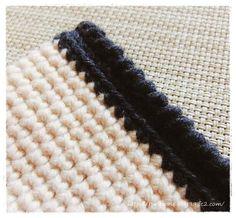 ■かぎ針編みで作る ファスナー付きミニポーチ | 家づくり手帖