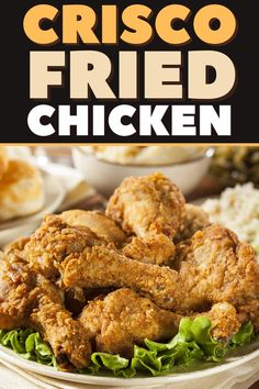 Perfect Fried Chicken, Raw Chicken, Buttermilk Fried Chicken, Fried Chicken Recipes, Crisco Recipes, Great Recipes, Favorite Recipes, Still Tasty, Fries In The Oven