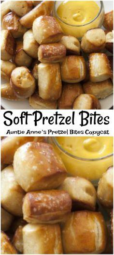 homemade soft pretzel bites recipe. Homemade Pretzel bites taste like Auntie Annes. easy homemade soft pretzel bites recipe. At home homemade soft pretzel
