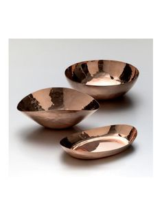 Simon Pearce Copper Round Bowl by Simon Pearce from Corzine & Co.