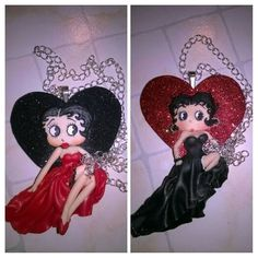#bettyboop #vday #instaelite #black #red #CraftsByDr #wantit #kawaiidoll #retro