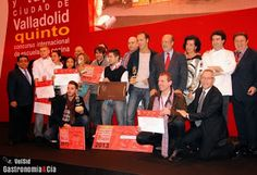 Ganadores del Concurso Nacional de Pinchos y Tapas Ciudad de Valladolid 2013, NOTICIAS. http://restaurantehoycocinalaabuela.blogspot.com.es/