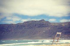 Famara beach, Lanzarote - Canary Islands