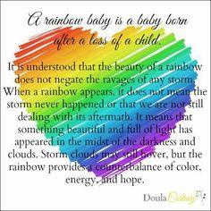 My rainbow baby.....