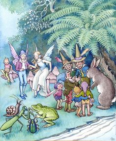 THE GUESTS WENT INTO CONFERENCE by IDA RENTOUL OUTHWAITE