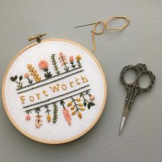 Fort Worth friends... come and talk embroidery with me at Fixture today from 10-3. I'll be there along with whole bunch of other amazing makers. #fortworth #embroideryartist #fortworthmakers #supportlocalart #cowtown #fortworthartist
