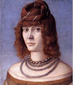 Vittore Carpaccio, Portrait of a Woman, 1495-98 (Galleria Borghese, Rome)