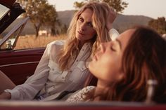 Alexa Chung & Poppy Delevingne Take a Road Trip for The Edit Shoot
