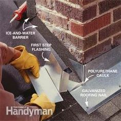 Leak-proof your chimney using this traditional, time-tested flashing method