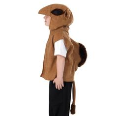 Camel T-shirt Style Costume for Kids: Camel t-shirt style fancy dress costume for kids, with hood and tail. Christmas Pageant, Christmas Fancy Dress, Christmas Costumes, Christmas Program, Animal Fancy Dress Costumes, Animal Costumes, Nativity Costumes, Diy Costumes, Dear Zoo