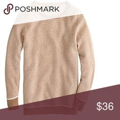 J.crew collection bird's eye cashmere sweater Gently used 3-4 times,no stain no flaw minor pilling under the arms J. Crew Sweaters