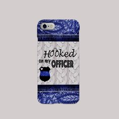 Custom phone case for those who's significant others serve in law enforcement!