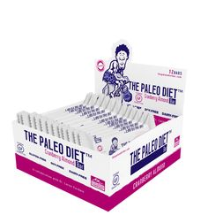 The Paleo Diet Bar – Cranberry Almond – 12 Pack $45.48  The Paleo Diet™ Bar is a superior nutrition bar that is gluten, soy, dairy and preservative free. It contains egg protein which is a source of all nine amino acids that can only be derived from food and has high concentrations of BCAAs, leucine, isoleucine and valine.
