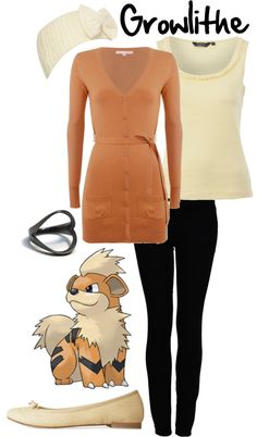 """""""Growlithe"""" by shoelacekid on Polyvore"""