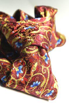 Handsewn seven fold tie in an amazing by ModernRenaissanceMan